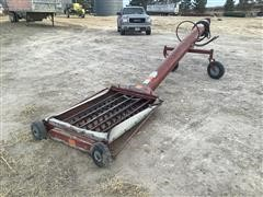 """Feterl 10"""" X 12' Hydraulic Jump Unload Auger"""