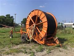 Hudig Irrigation Traveling Volume Gun W/Trailer Mounted Hose Reel