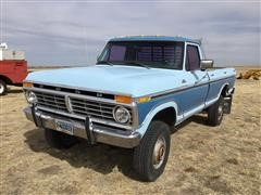 1977 Ford F250 Ranger 4x4 High Boy Pickup