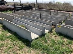 10' Concrete Feed Bunks
