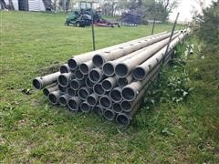 "Lindsay 6"" Aluminum Gated Pipe"
