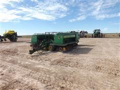 John Deere 455 30' Front-Folding Grain Drill W/Grass Seed Boxes