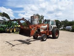 1976 Case 1170 2WD Tractor W/ Loader