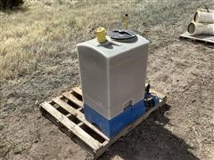 Agri-Inject Chemigation Tank And Pump