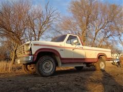 1984 Ford F150 4x4 Regular Cab Pickup