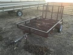 Carry-On 5'x8' S/A Utility Trailer