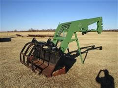 Miller PL-5 Quick Tach Loader W/9' Bucket And Grapple