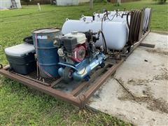 Shop Built Oil Fill/ Evacuate Unit