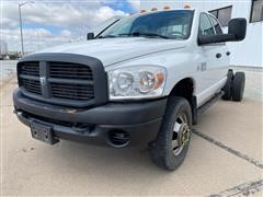 2007 Dodge RAM 3500 HD 4x4 Dually Crew Cab And Chassis