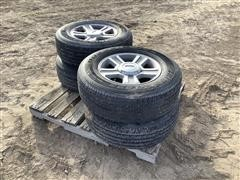 Ford F150 Rims w/ Bridgestone Tires