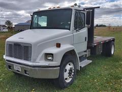 1996 Freightliner FL70 S/A Flatbed Truck