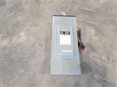 Square D 100 Amp 600 Volt Disconnect