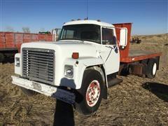 1976 International Loadstar 1600 S/A Flatbed Truck