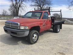 1995 Dodge Ram 3500 Flatbed Pickup