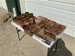 69 Lbs Of Refrigeration Copper Fittings
