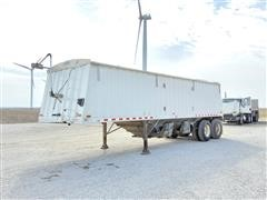 1998 Jet T/A Hopper Bottom Grain Trailer