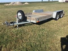 2014 S&W UT167 T/A Flatbed Trailer