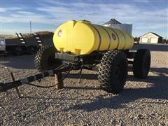 Big John Fertilizer Trailer W/1600-Gal Poly Tank