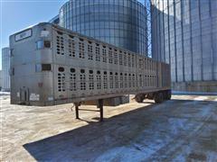 1996 Wilson PSAL-303P T/A Livestock Trailer