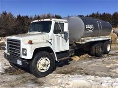 1981 International F1954 T/A Water Truck (INOPERABLE)