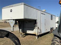 2002 Wells Cargo CVG3025 T/A Gooseneck Cargo Van/Office Trailer