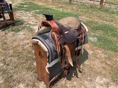 """15.5"""" Western Saddle"""