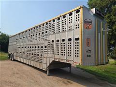 2011 Merritt Tri/A Aluminum Livestock Trailer