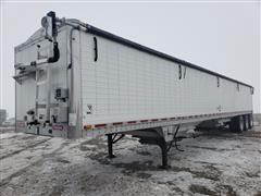 2011 Wilson DWH-550 PaceSetter Tri/A Aluminum Hopper Bottom Grain Trailer