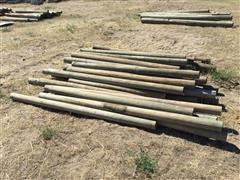 6'-7' Wood Posts