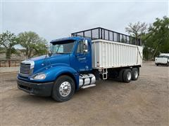 2006 Freightliner Columbia 120 T/A Truck W/Smeal Silage Box
