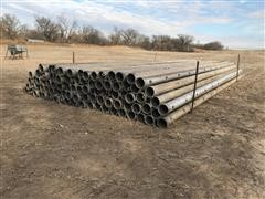 """8"""" Gated Pipe X 30' Long Irrigation Pipe"""