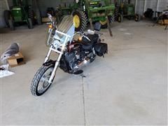 2014 Harley Davidson Dyna Super Glide Custom Motorcycle