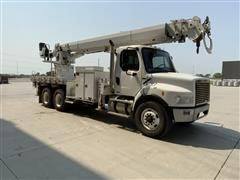 2007 Freightliner M2-106 T/A Boom Truck W/Altec Pole Setter