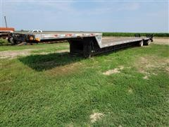 2003 Transcraft T/A Step Deck Flatbed Trailer W/Ramps