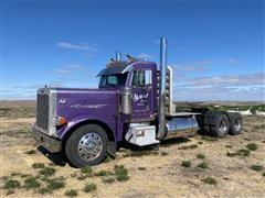 2000 Peterbilt 379 Extended Hood T/A Truck Tractor W/ Wet Kit
