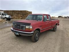 1992 Ford F250XLT 4x4 Extended Cab Pickup