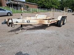 1998 Duo Lift T14144D T/A Flatbed Trailer