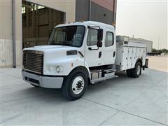 2010 Freightliner M2-106 Crew Cab Service/Utility Truck