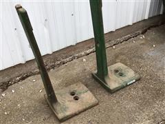 John Deere 4020 Front Weight Brackets