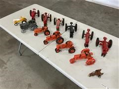 Case /Farmall/Massey Collectible Toy Tractors