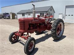 Farmall H 2WD Tractor