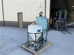 Gustafson Bayer Seed Treater Pump Stand