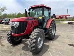 2015 Mahindra 105s MFWD Tractor