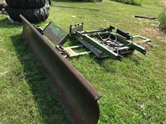Otter Tractor-Mount 12' Dozer Blade
