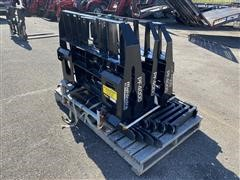 Mahindra Skid Steer Fork Attachments