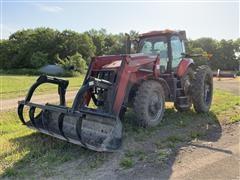 2009 Case IH Magnum 190 MFWD Tractor W/Loader
