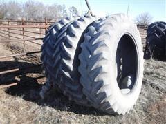 Armstrong Hi-Traction Lug Radial 18.4R42 Bar Tires