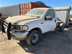 2004 Ford F250 Cab And Chassis Pickup