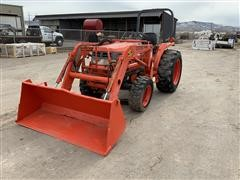1996 Kubota L2900 MFWD Compact Utility Tractor