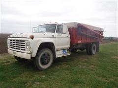 1977 Ford F600 S/A Grain Truck